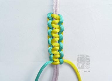 中国结,红绳手链的编法
