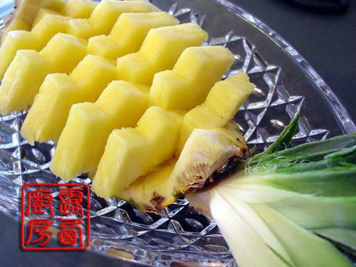 水果拼盘制作步骤—水果的不同切法