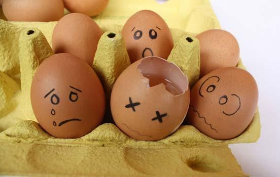 鸡蛋表情,手绘鸡蛋壳